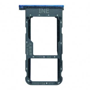 Für Huawei P Smart Plus Karten Halter Sim Tray Schlitten Holder Blau Ersatzteil - Vorschau 2