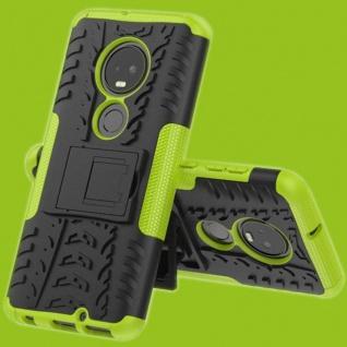 Für Motorola Moto G7 / G7 Plus Hybrid 2teilig Outdoor Grün Tasche Etuis Hülle