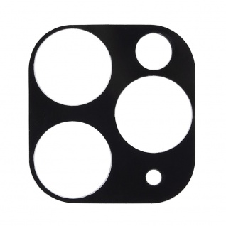 Kamera Cam Schutz Protection Ring für Apple iPhone 11 Pro Max Schwarz Ersazteil
