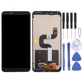 Für Xiaomi Mi A2 / Mi 6X Display Full LCD Touch mit Rahmen Reparatur Schwarz Neu