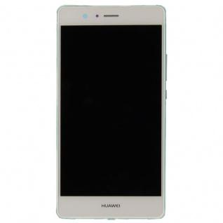 Huawei Display LCD Einheit Rahmen für P9 Lite Full Service Pack 02350SLF Weiß - Vorschau 2