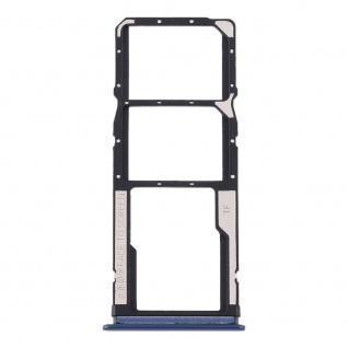 Sim Card Tray für Xiaomi Redmi 10X 4G Blau Karten Halter Holder Ersatzteil