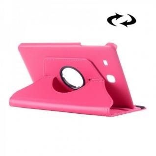 Schutzhülle 360 Grad Pink Tasche für Samsung Galaxy Tab E 9.6 SM T560 T561 Hülle