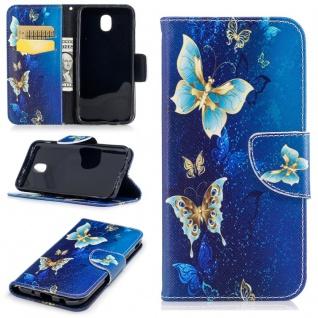 Tasche Wallet Motiv 41 für Samsung Galaxy J5 J530F 2017 Hülle Case Etui Cover