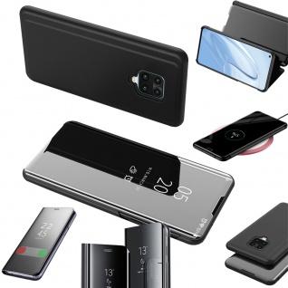 Für Google Pixel 4a View Smart Cover Magenta Handy Tasche Etuis Schutz Wake UP - Vorschau 3