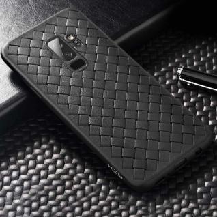 Original ROCK Wave Silikon für Samsung Galaxy S9 Plus G965F Tasche Hülle Schwarz
