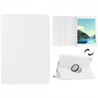 Schutzhülle 360 Grad Weiß Tasche für Apple iPad Mini 4 7.9 Zoll Hülle Case Etui