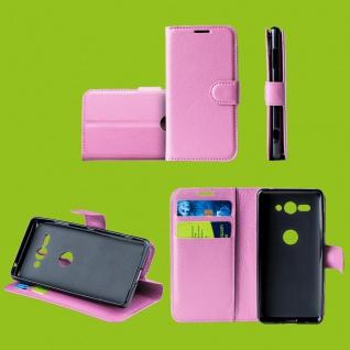 Für Samsung Galaxy S10 Plus G975F 6.4 Tasche Wallet Kunst-Leder Rosa Hülle Etuis