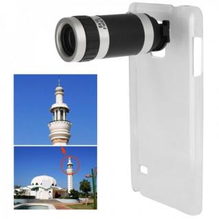 Kamera Foto Telescope für Samsung Galaxy Note 4 N910 N910F 8x Objektiv Zubehör