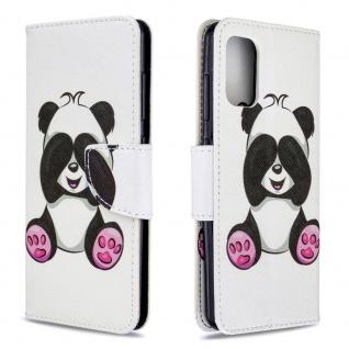Für Samsung Galaxy A41 Kunstleder Handy Tasche Book Motiv 3 Hülle Case Etuis