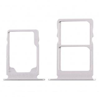 Für Nokia 3.1 Simkarten Halter Card Tray Weiß White SD Card Ersatzteil Zubehör