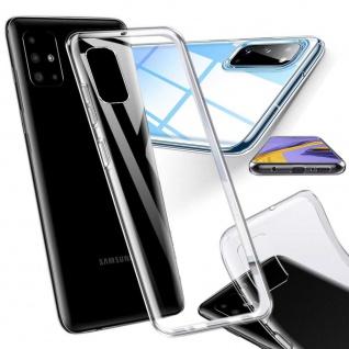 Für Samsung Galaxy Note 10 Lite Silikon TPU Schutz Transparent Tasche Hülle Etui