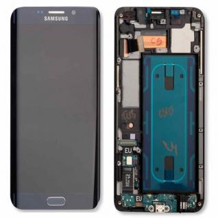 Display LCD Komplettset Ersatz Schwarz für Samsung Galaxy S6 Edge Plus G928F Neu