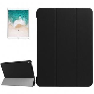 Smartcover Schwarz Cover Tasche für Apple iPad Pro 10.5 2017 Hülle Etui Case Neu