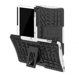 Für Samsung Galaxy Tab S5e 10.5 T720F Outdoor Hybrid Weiß Tasche Etuis Hülle Neu
