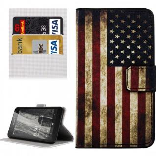 Schutzhülle Muster 10 für Microsoft Lumia 650 Bookcover Tasche Case Hülle Wallet