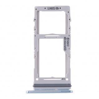 Dual Sim / Micro SD Karten Halter für Samsung Galaxy S20 Plus/S20 Ultra Blau
