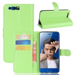 Schutzhülle Grün für Huawei Honor 9 Bookcover Tasche Case Cover Top Zubehör Neu