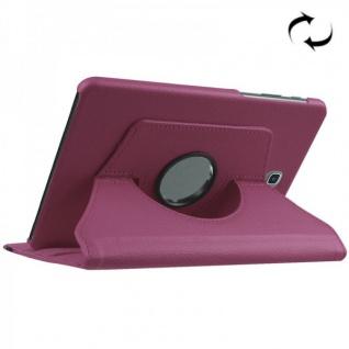 Schutzhülle 360 Grad Lila Tasche für Samsung Galaxy Tab S2 8.0 SM T710 T715N Neu