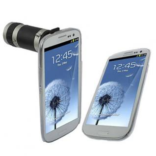 Hochwertiges Kamera Objektiv für Samsung Galaxy S3 i9300 Zoom Zubehör 8fach Case