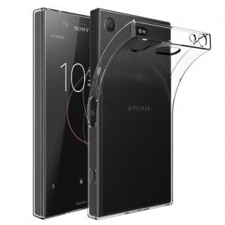 Schutzhülle TPU Transparent Tasche für Sony Xperia XZ1 Compact Mini Hülle Cover