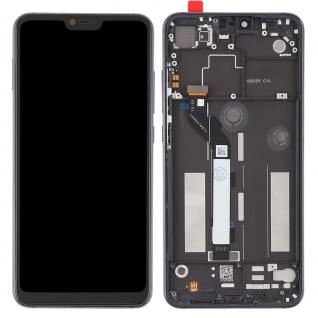 Für Xiaomi Mi 8 Lite Reparatur Display LCD Komplett Einheit mit Rahmen Schwarz - Vorschau 4