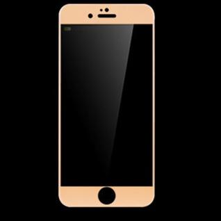 Premium 0, 3 mm gebogenes H9 Panzerglas Gold Folie für Apple iPhone 7 4.7 Schutz - Vorschau 1
