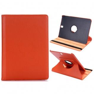 Schutzhülle 360 Grad Orange Tasche für Samsung Galaxy Tab S3 9.7 T820 T825 Neu