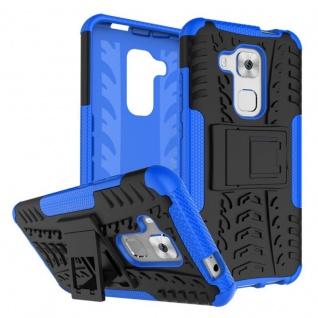 Hybrid Case 2teilig Outdoor Blau für Huawei Nova Plus Tasche Hülle Cover Schutz