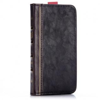 Tasche Book Retro Style für Apple iPhone 6 Plus 5.5 Hülle Case Etui Schutz Cover - Vorschau 4