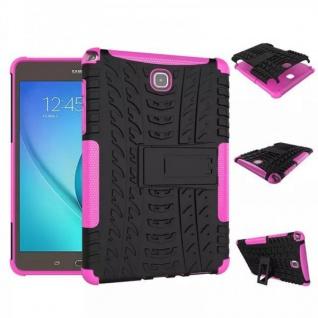 Hybrid Outdoor Schutzhülle Cover Pink für Samsung Galaxy Tab A 9.7 T550 Tasche