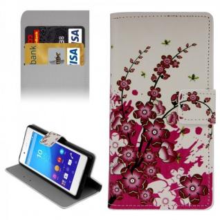 Schutzhülle Muster 6 für Sony Xperia Z3 Plus E6553 Bookcover Tasche Hülle Case