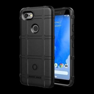 Für Google Pixel 3 Shield Series Outdoor Schwarz Tasche Hülle Cover Schutz Case