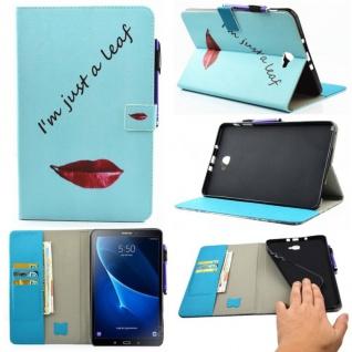 Schutzhülle Motiv 55 Tasche für Samsung Galaxy Tab A 10.1 T580 T585 Hülle Cover
