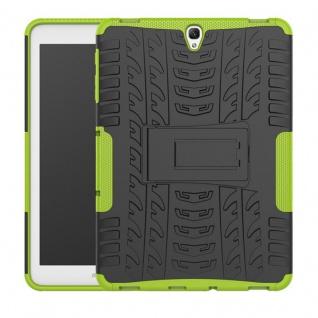 Hybrid Outdoor Schutzhülle Grün für Samsung Galaxy Tab S3 9.7 T820 T825 Tasche