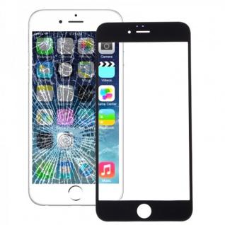 Displayglas Glas Schwarz für Apple iPhone 6S 4.7 Zubehör + Werkzeug Opening Tool