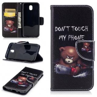 Schutzhülle Motiv 41 für Samsung Galaxy J3 J330F 2017 Tasche Hülle Case Zubehör