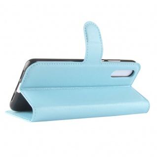Tasche Wallet Premium Blau für Huawei P20 Hülle Case Cover Schutz Etui Schale - Vorschau 3