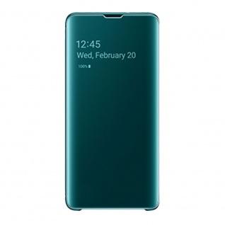 Samsung Flip Tasche Clear View EF-ZG973CGEGWW für Galaxy S10 G973F Cover Grün - Vorschau 2
