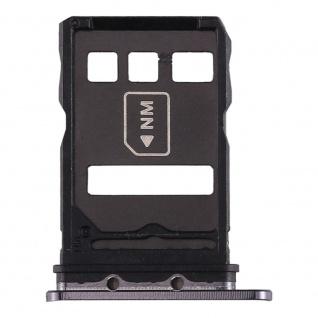 Für Huawei P40 Card Tray Schwarz Schlitten Karten Halter Ersatzteil Reparatur