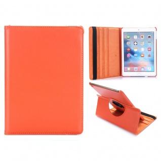Schutzhülle 360 Grad Orange Tasche für NEW Apple iPad 9.7 2017 Etui Case Cover