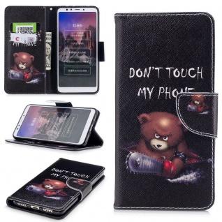 Tasche Wallet Book Cover Motiv 30 für Xiaomi Redmi 5 Hülle Case Etui Schutz Neu