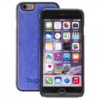 Bugatti ClipOnCover Cover Apple iPhone 6 6S Schutzhülle Hardcase Case Sapphire