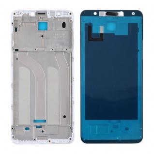 Gehäuse Rahmen Mittelrahmen Deckel für Xiaomi Redmi 5 Weiß Reparatur Ersatzteil