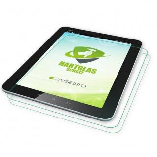 2x 0, 4 mm H9 Hartglas Echt Glas Tempered für Apple iPad 2 / 3 / 4 Schutz Neu