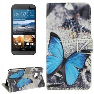 Schutzhülle Muster 73 für HTC One 3 M9 2015 Tasche Cover Case Hülle Etui Schutz