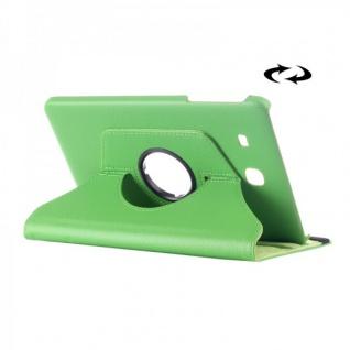 Schutzhülle 360 Grad Grün Tasche für Samsung Galaxy Tab E 9.6 SM T560 T561 Hülle