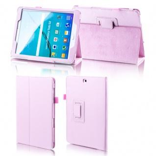 Für Samsung Galaxy Tab A 10.5 T590 T595 Rosa Kunstleder Hülle Cover Tasche Case