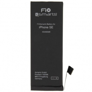 Akku Batterie Battery für Apple iPhone SE 1624 mAh Ersatzakku 3, 82V Zubehör TOP