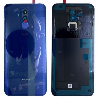 Huawei Akkudeckel Akku Deckel Batterie Cover Blau für Mate 20 Lite 02352DKR Neu